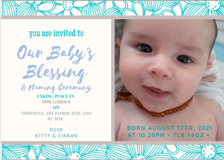 Welcome to the World, Little One… A look at Baby Blessings…